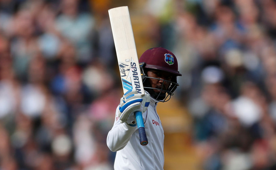 West Indies' Jermaine Blackwood tried his best to avert the inevitable with a fighting fifty. However, lacking any support, he couldn't save his team from the follow-on as they were dismissed for 168. Reuters