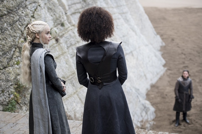 Stills from Game of Thrones season 7 episode 4, 'The Spoils of War'. Images via HBO