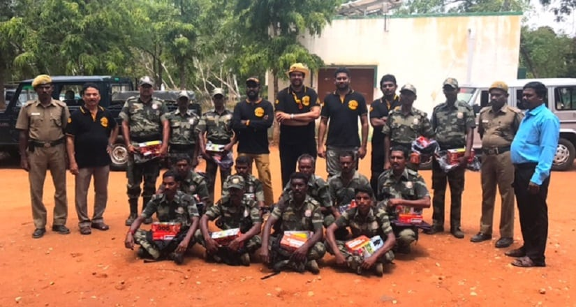 CSR activity among anti-poaching watchers at a tiger reserve