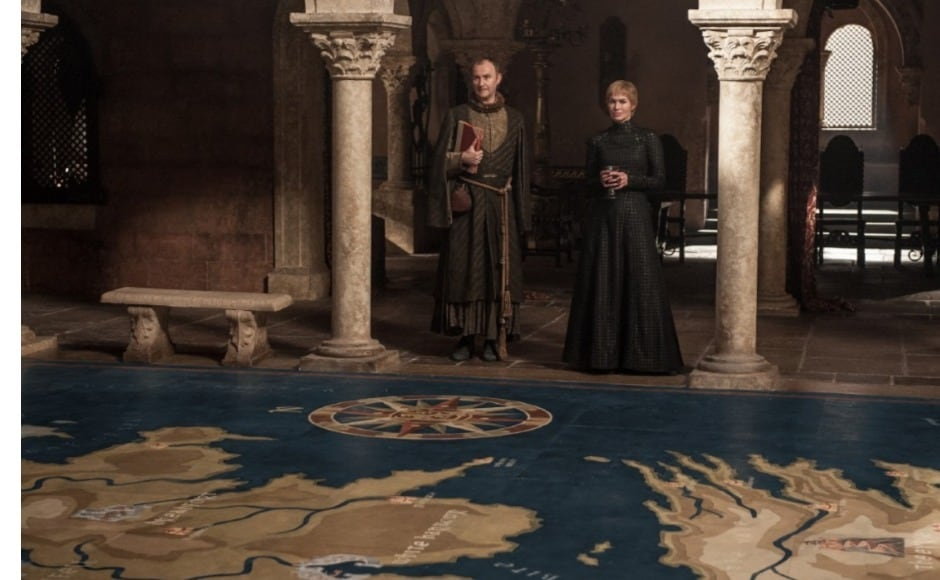 Cersei's taken revenge on Ellaria Sand and Olenna Tyrell, and struck a body blow to Daenerys' campaign to take over the Iron Throne. What will 'The Spoils of War' mean for her? Image courtesy HBO