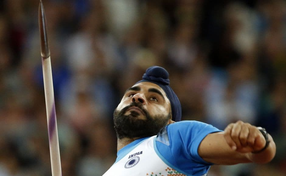 India's Davinder Singh qualified for the javelin throw finals at IAAF World Athletics Championships 2017 in London. AP