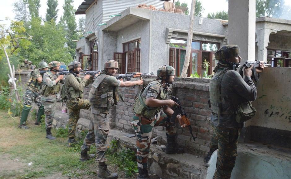 Security forces on Tuesday gunned down Lashkar-e-Taiba (LeT) commander Abu Dujana in an encounter in south Kashmir's Pulwama district. Firstpost/Shah Hilal