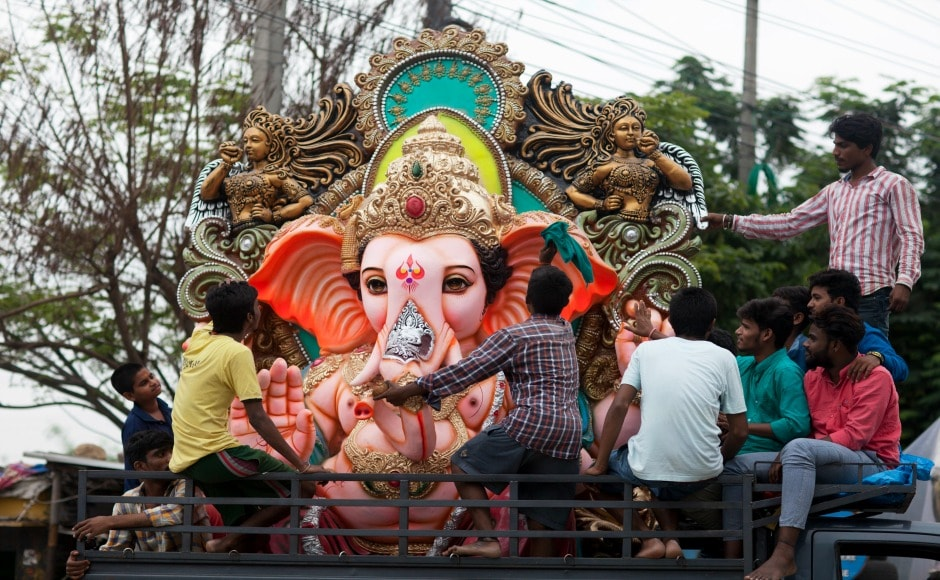Ganesh Chaturthi, also known as Vinayaka Chaturthi marks the birthday of Lord Ganesha. It is observed in the month of Bhadra according to the Hindu calendar. AP