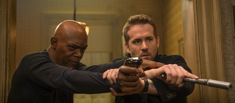 A still from The Hitman's Bodyguard. Image from Facebook
