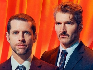 DB Weiss and David Benioff. Image via Facebook