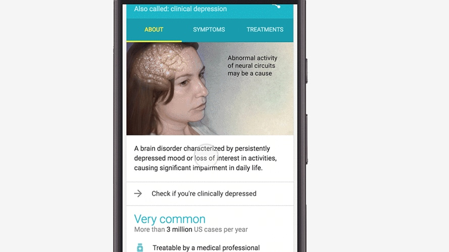 Google to now help in diagnosing clinical depression. Google