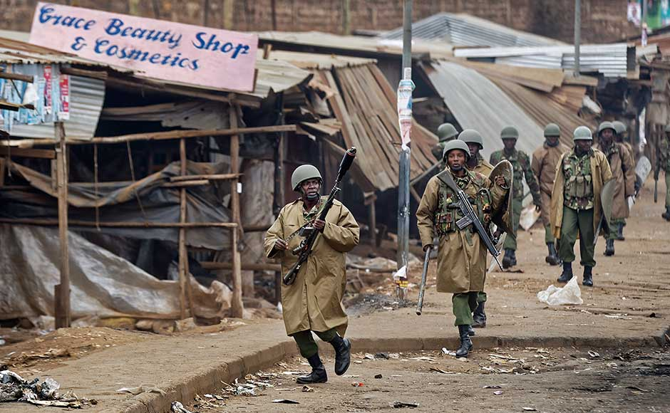 Tensions were high in the east African nation, where a decade ago, post-poll bloodshed left 1,100 people dead. It remained unclear whether final results would be officially published on Thursday. Under Kenya's electoral law, the definitive results must be published within a week of polling. AP