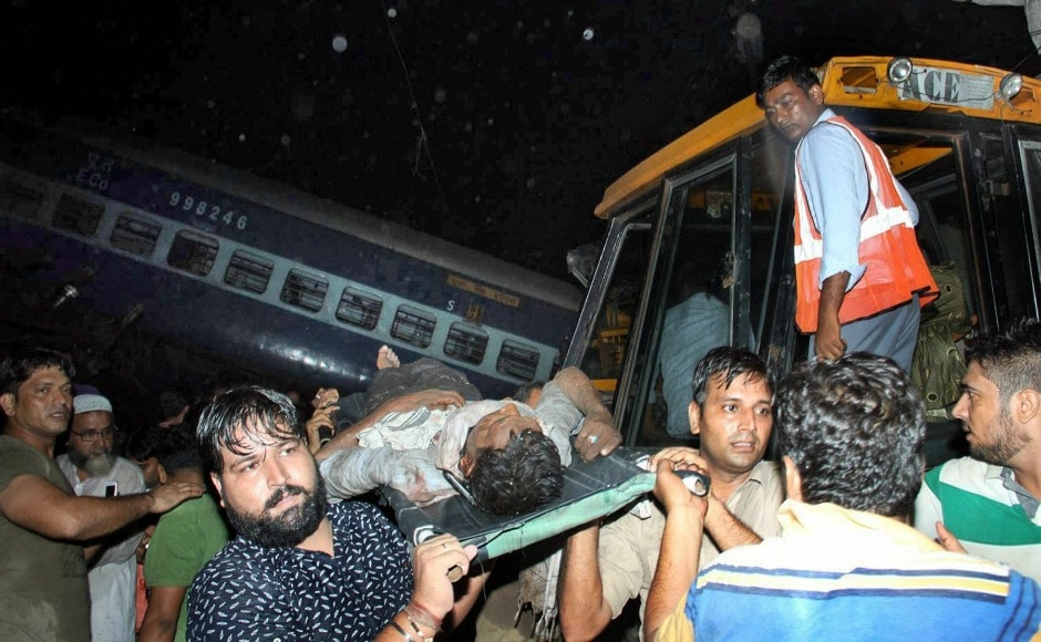 The accident occurred around 5.45 pm near Khatauli town, 40 kilometres from Muzaffarnagar, the Uttar Pradesh police said. The injured are being treated in government hospitals nearby. PTI
