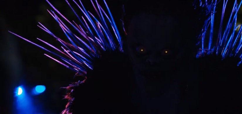 A still from Death Note. Youtube screengrab