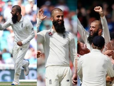 Moeen Ali became the first England spinner since 1938 to scalp a hat-trick.