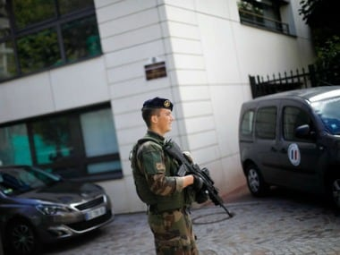 File image of a French soldier. AP