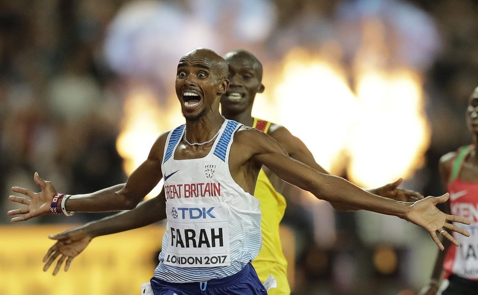 It was Mo Farah's third world title, adding to his two Olympic gold medals. The last time he missed out on a major title was when he finished second in the 10,000 at the 2011 world championships. Ever since, nothing but gold. AP