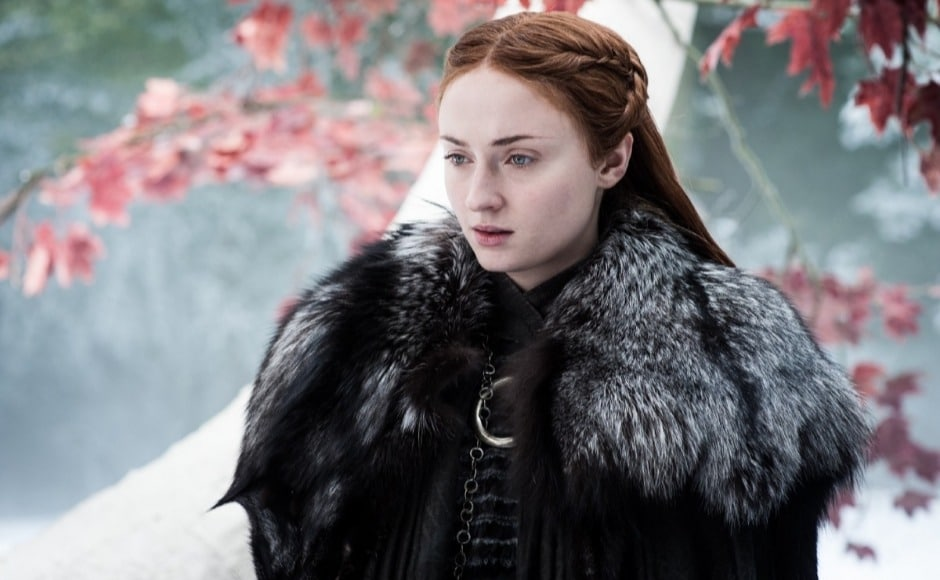 Sansa is having trouble understanding Bran's role as the Three Eyed Raven. The previous episode saw her struggling with memories of being raped by Ramsay when Bran recounted her wedding night. Image courtesy HBO