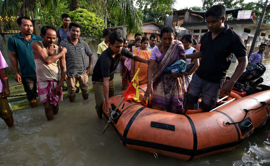 Indian Army has been called in to assist the civil administration in rescue and relief operations in Assam. Army is helping ferrying rations and other provisions to the relief camps besides air dropping food packet and other relief items. Reuters