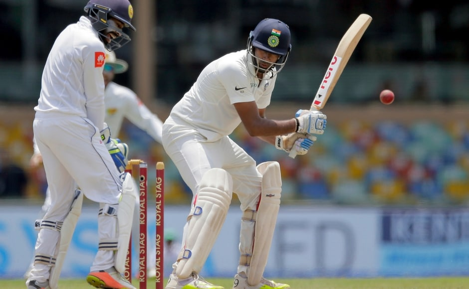 India lost their sixth wicket when Ravichandran Ashwin was bowled by Rangana Hearth immediately after reaching his 11th half century. AP
