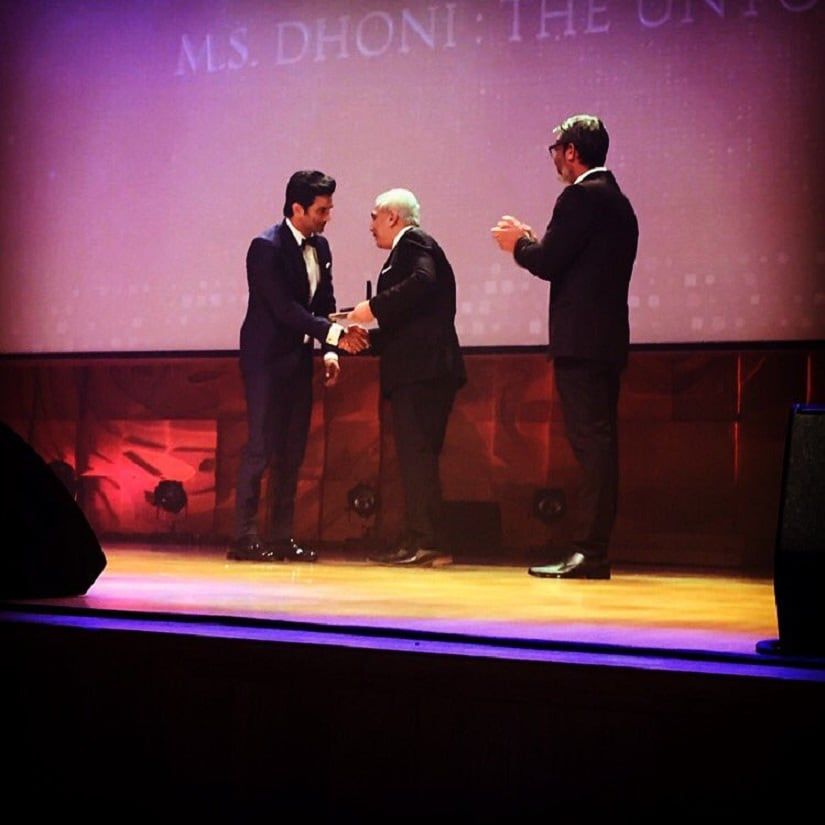 Sushant Singh Rajput won the Best Actor award for his movie MS Dhone: The Untold Story.
