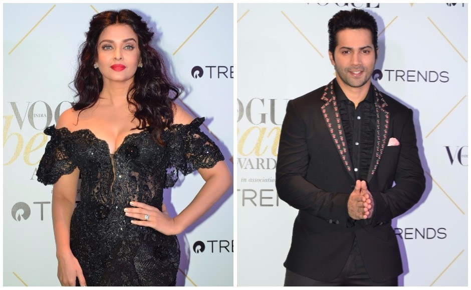 Aishwarya Rai was named Most Beautlful Global Indian icon, while Varun Dhawan took home the trophy for Most Beautiful Man of the Year.