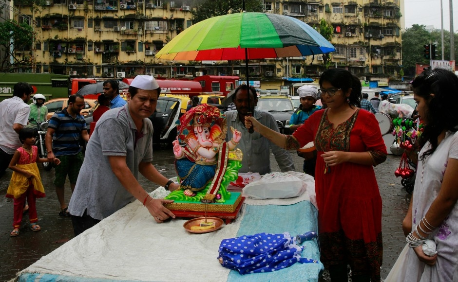 In Mumbai, Ganesh Chaturthi is celebrated with great enthusiasm; several popular pandals like Lalbaugcha Raja, Ganesh Galli attracts visitors from other states too. AP
