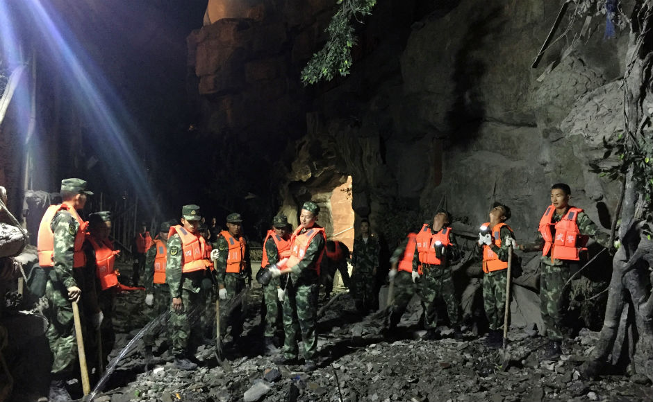 President Xi Jinping has called for all-out efforts to rapidly organise relief work and rescue those injured. Chinese prime minister Li Keqiang also urged local authorities to intensify relief work. AP