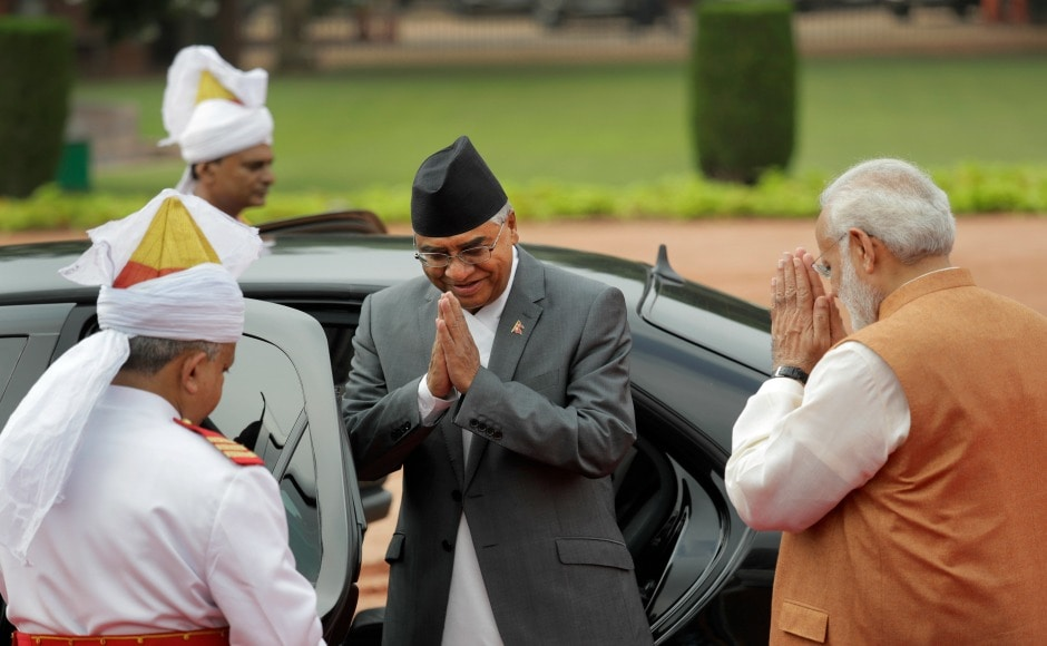 Apart from his official engagements in, Deuba will also visit Hyderabad, Tirupati and Bodh Gaya. He had earlier visited India in as prime minister in 1996, 2004 and 2005. AP