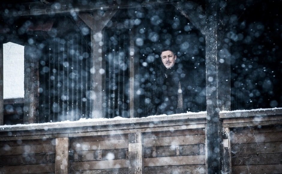 As for Littlefinger, we can't help but feel his days are numbered. Image courtesy HBO
