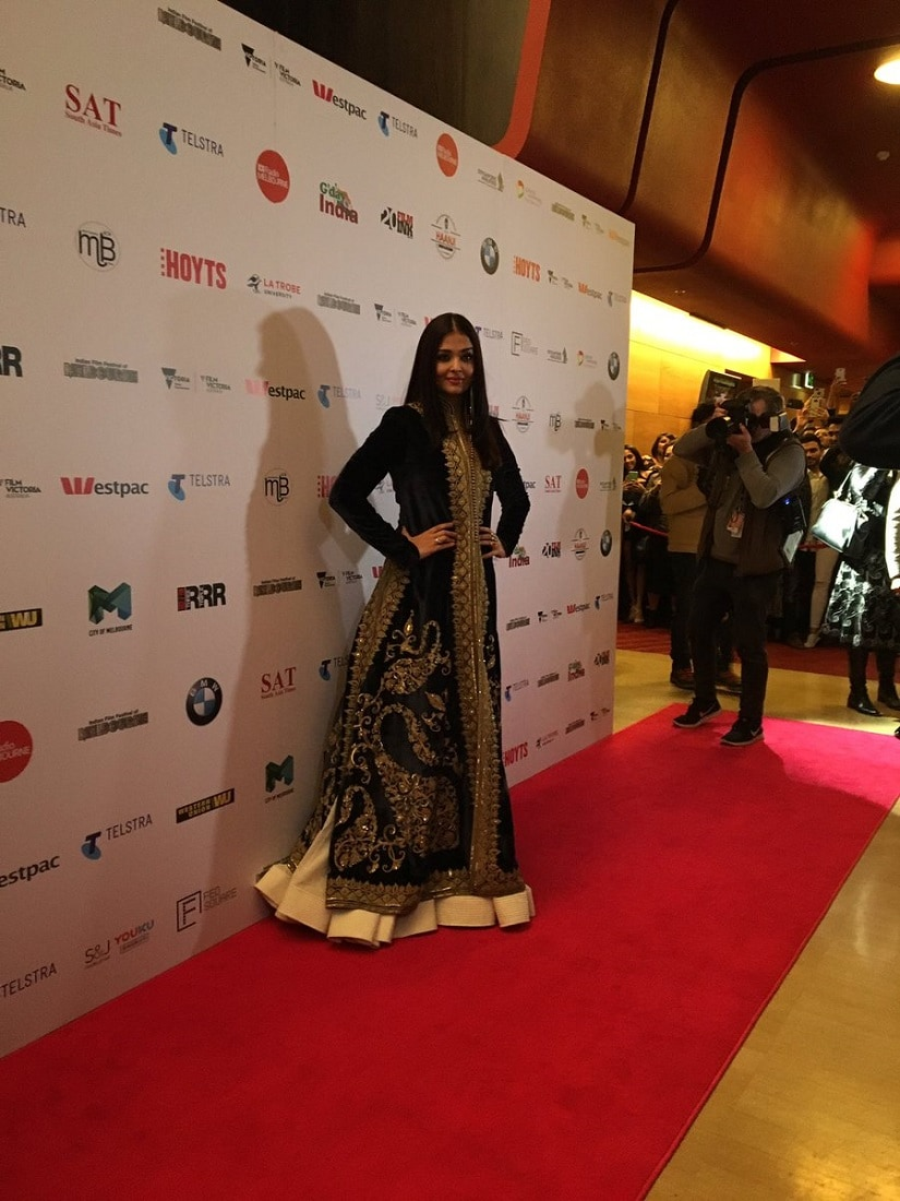 Aishwarya Rai was felicitated with the Excellence in Global Cinema Award at this year's IFFM.