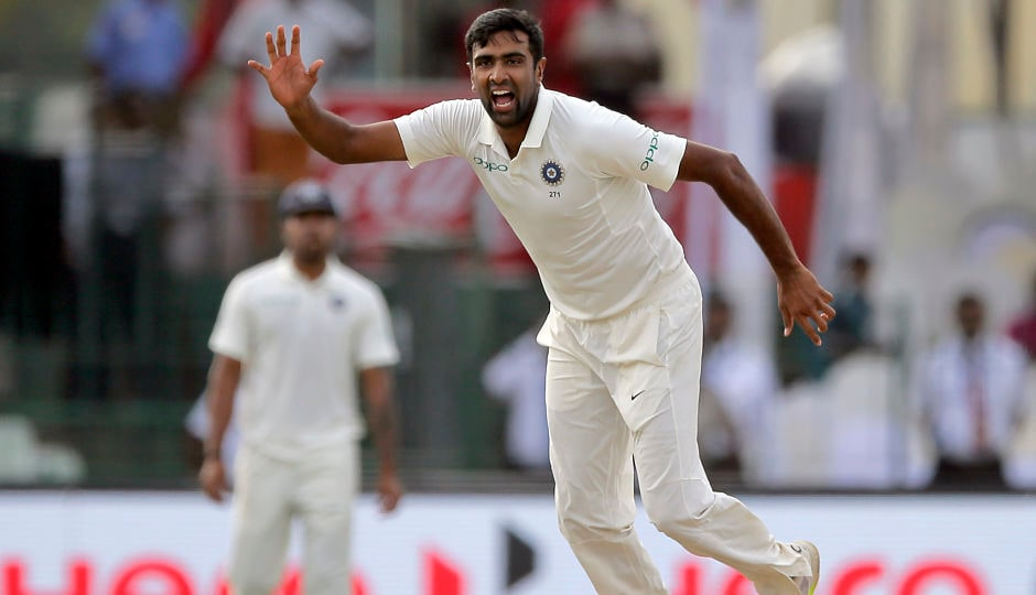 India's premier bowler Ravichandran Ashwin accounted for both the Sri Lankan openers – Upul Tharanga and Dimuth Karunaratane –in the final session of play on Day 2 as Sri Lanka ended the day on 50/2. AP