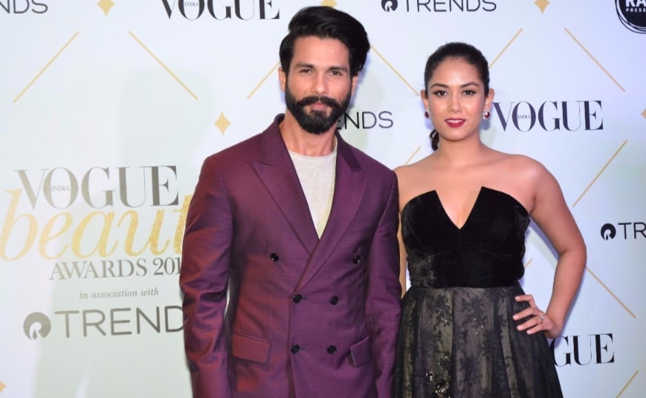 Shahid Kapoor and wife Mira Rajput were named 'Most Beautiful Couple'.