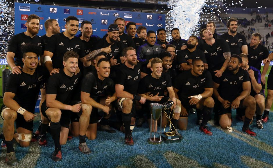 New Zealand's All Blacks won the team of the year award following their Rugby World Cup victory. Reuters