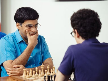 Viswanathan Anand struggling with his form. Austin Fuller