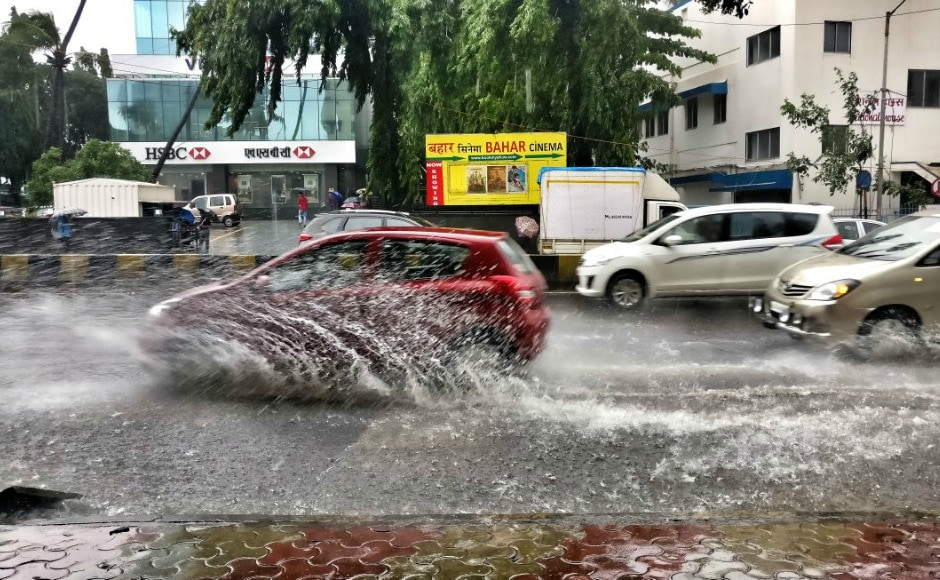 Incessant rainfall that started on Monday has rendered parts of Mumbai inundated. The IMD has issued a warning saying that residents should expect heavy rainfall in Mumbai over the next three days. Firstpost/Chandrani Datta