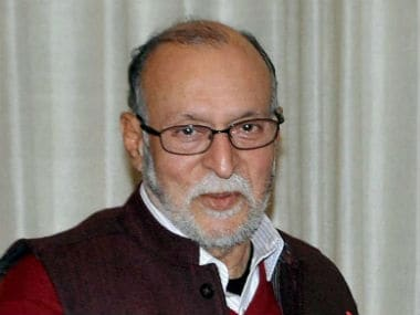 File image of Anil Baijal. News18