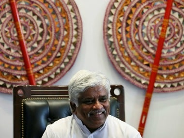 File photo of Arjuna Ranatunga. Reuters