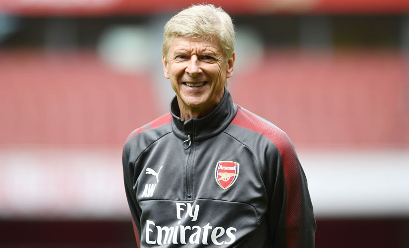 Arsenal's fantastic outcome: Winning Premier League, Europa League and the FA Cup. And Arsene Wenger retiring with a smile. Getty