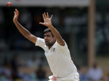 Ravichandran Ashwin finished with 5/69 in Sri Lanka's first innings on Day 3, and remained wicketless for the remainder of the day. AP