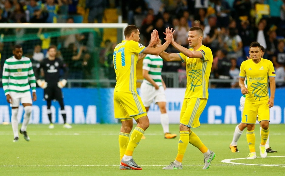 UCL PLAYOFFS: Sevilla, Napoli, Celtic reach group stage