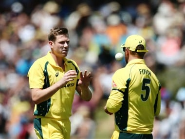India vs Australia: James Faulkner, Nathan Coulter-Nile in, injured Mitchell Starc out of visitors' squad