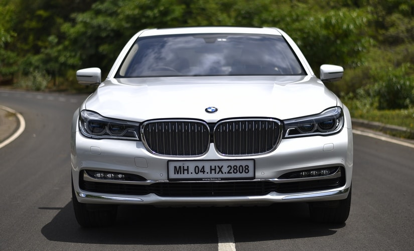 The design elements on the BMW 740Li are a sure head turner.
