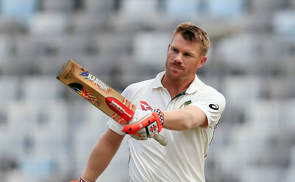 The way Australia's David Warner was batting, it looked like he was going to take Australia to victory. He brought up a personal milestone by getting to his century. But he was dismissed for 112 and his tonended in a losing cause. AP
