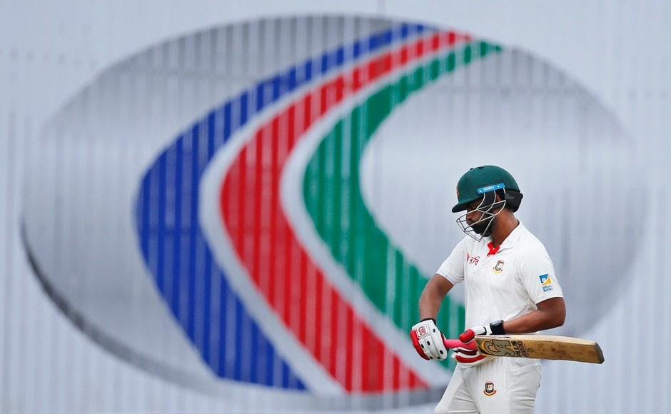 A gem of a delivery by Australia's Pat Cummins end Bangladesh's opener Tamim Iqbal's innings. The left-hander top scored with 78 in the 2nd innings. AP