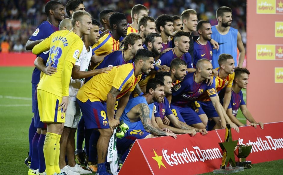 Barcelona eased to a 5-0 win over Chapecoense at Camp Nou to win the Joan Gamper trophy, the Catalan club's traditional curtain-raiser for the new season of La Liga. AP