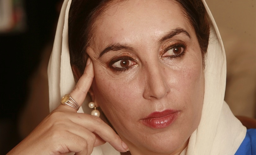 File image of Benazir Bhutto. Reuters