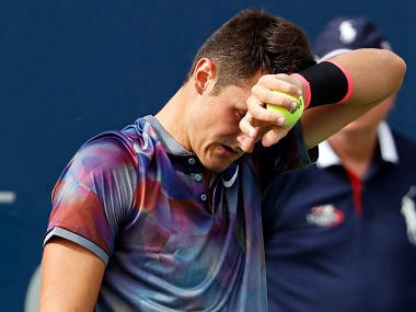 Bernard Tomic predictably lost to Gilles Muller in first round of US Open. AP