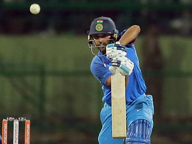 Bhuvneshwar Kumar played a crucial knock to help India register a win in 2nd ODI against Sri Lanka. AP