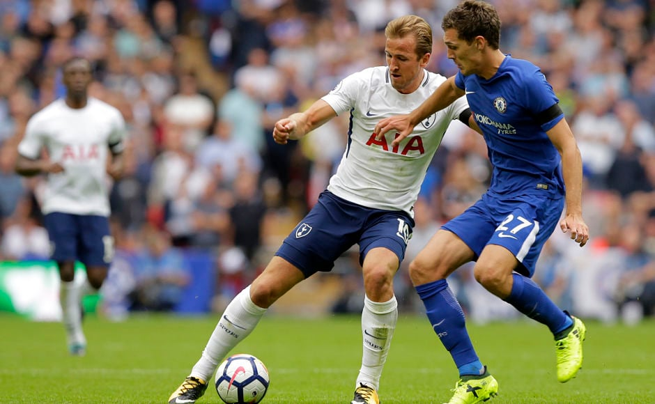 Despite Harry Kane's eight shots on goal, the Tottenham striker could not find the back of the net against Chelsea. He came as close as hitting the post but his goal-less drought in the month of August in Premier League continued AP
