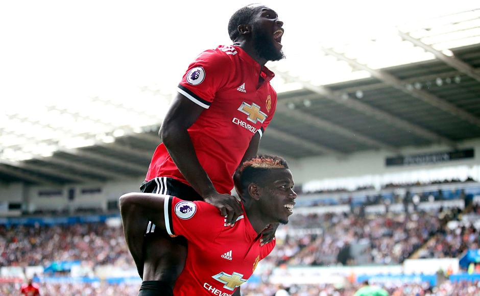 Manchester United completed another emphatic win as they send down 4 goals against Swansea City and maintained another clean sheet. New signning Romelu Lukaku got his name on the scoresheet once again. AP