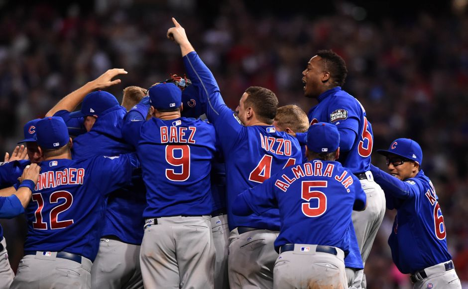 Chicago Cubs' first Major League Baseball World Series victory in 108 years won them the Laureus Team of the Year Award. Reuters