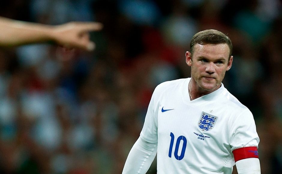 After Steven Gerrard's retirement, Wayne Rooney was officially named the captain of England in 2014. Reuters