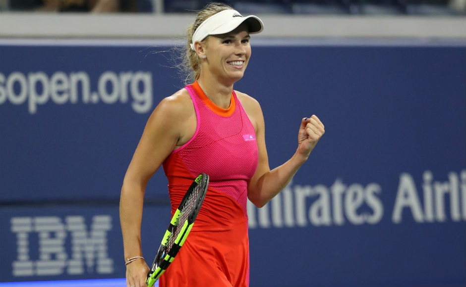 Fifth seed Caroline Wozniacki kicked off her campaign with a 6-1 7-5 first-round victory over Mihaela Buzarnescu of Romania. Reuters