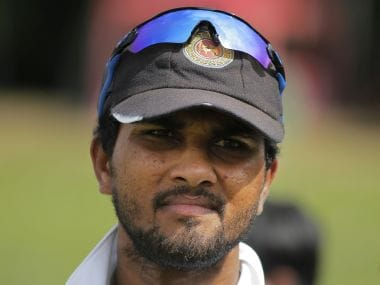 Sri Lanka's captain Dinesh Chandimal. AP